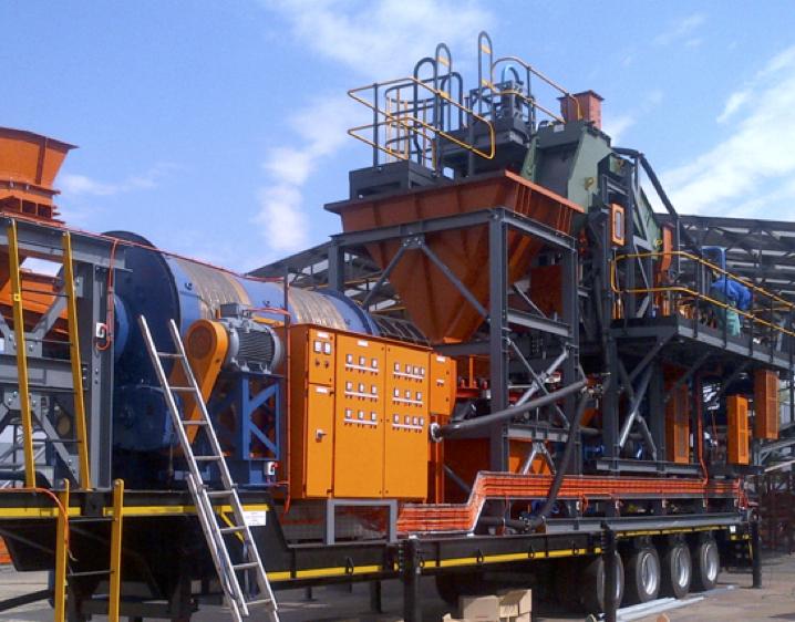 30 TPH Mobile bulk sampling plant consulmet